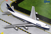 BOAC B747-100 (Polished) G-AWNF Gemini Diecast Display Model