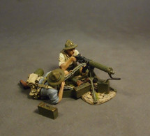 New Zealand Machine Gun Corps, Vickers Heavy Machine Gun Team, The Gallipoli Campaign 1915 (3pcs)