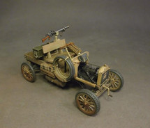 Ford Model T, BUNG, Australian 1st Light Car Patrol, 1917, Wheels Across the Desert (two pieces)