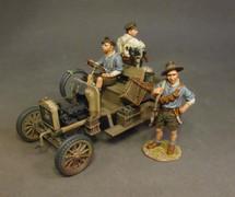 Driver, Ford Model T, BUNG, Australian 1st Light Car Patrol, 1917, Wheels Across the Desert (1pc)