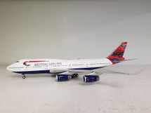 British Airways Boeing 747-400 G-BNLS Wunala Dreaming w/ Stand