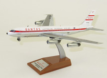 Qantas Boeing 707-138 VH-EBA With Stand