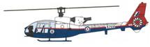 Gazelle HT.Mk 3 RAE, XZ936, RAF Boscombe Down, England