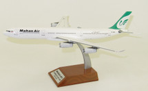 Mahan Air Airbus A340-300 EP-MMA With Stand