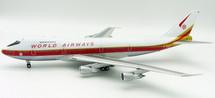World Airways Boeing 747-200 N748WA With Stand