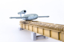 V-1 Missile with Launch Ramp German Luftwaffe, 1944 (Plastic)