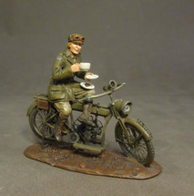 Despatch Rider, Time for Tea, WWI (2pcs)