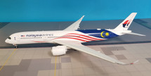 Malaysia Airlines Negaraku Livery Airbus A350-900 9M-MAC With Stand