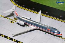TWA/American Airlines 717-200, N426TW Gemini Diecast Display Model