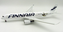 Finnair Airbus A350-900 OH-LWD Happy Holidays With Stand