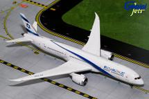 El Al B787-9 4X-EDA Gemini Diecast Display Model