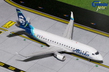 Alaska Airlines E-175, N182SY Gemini Diecast Display Model