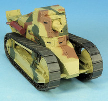 Renault FT 75 BS Self-Propelled Gun French Army, World War II