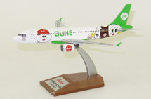 AirAsia Airbus A320-216 9M-AHR Line Friends Livery With Stand