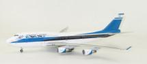 El Al Israel Airlines Boeing 747-400 4X-ELB No Stand, Limited 50 Models