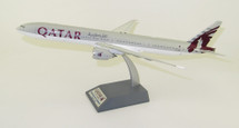 Qatar Airways Boeing 777-300ER A7-BAA With Stand