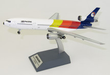 Air Pacific McDonnell Douglas DC-10-30 N821L With Stand, Limited 100 Models