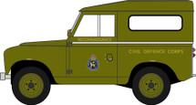 Land Rover Series II SWB Hardtop Civil Defence