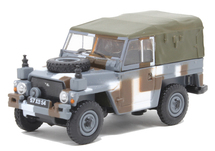 "Land Rover 1/2-Ton Lightweight (Canvas) British Army ""Berlin Infantry Brigade"" Urban Camouflage Scheme, 1980s"