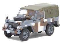 """Land Rover 1/2-Ton Lightweight (Canvas) British Army """"Berlin Infantry Brigade"""" Urban Camouflage Scheme, 1980s"""