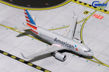 American Airlines A319, N8027D Gemini Diecast Display Model