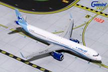 Interjet A321-200, XA-GEO Gemini Diecast Display Model