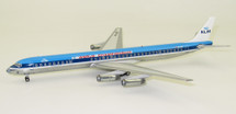 KLM DC-8-63 PH-DEF Polished With Stand