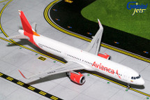Avianca A321neo N759AV Gemini Diecast Display Model