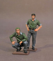 Two Catapult Crew #2, USS Saratoga (CV-3), Inter-War Aviation--two figures
