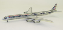 Flying Tigers JumboJet Scheme DC-8-63F N779FT With Stand polished