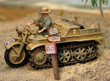 German Sd. Kfz. 2 NSU Kettenkrad Light Tractor with Driver Set, Deutsches Afrika Korps