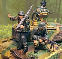 PzKfw IV Normandy Riders w/ separate bases