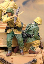 PzKfw IV Afrika Korps Riders w/ separate bases