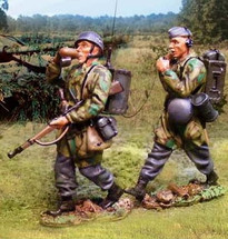 Fallschirmjager Regiment Series Radio Team, The Battle for Normandy 1944