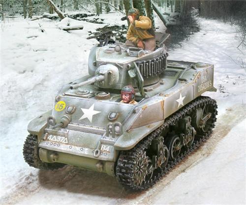 US M5 Stuart Light Tank