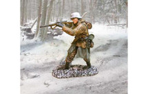 German from the Bulge Standing Firing, WWII
