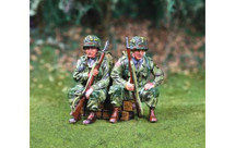 101st Airborne Riders for Jeep WWII, 2 figures
