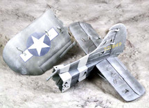 101st Airborne Waco Diorama Tail Section Winter