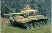 US Pershing Tank Olive Drab WWII, 1945