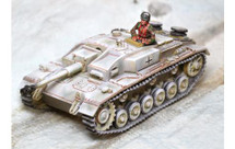 Sturmgeschutze Ausf. F Winter with one figure