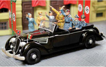Hitler Touring Limousine, includes four figures WWII
