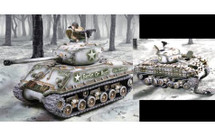 Sherman Winter Set w/ Command figure and sand bag kit, WWII