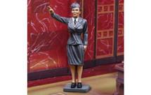 Luftwaffe Frau WWII, single figure