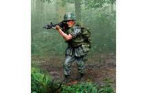 US Marine Vietnam Firing
