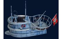 TYPE IIV U Boat Conning Tower, WWII