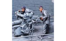 U-Boat 88 Crew 2 figures, WWII