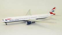 British Airways Boeing 777-300/ER G-STBK With Stand Limited 42 models