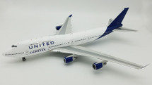 United Charter Boeing 747-400 N194UA With Stand