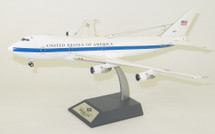 USA Air Force Boeing E-4A (747-200B) 73-1677 With Stand