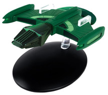 Romulan Science Vessel Romulan Empire, STAR TREK: The Next Generation, w/Magazine